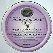 Adam F - Metropolis / Mother Earth (Metalheadz METH023, 1996) : посмотреть обложки диска