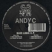 Andy C - Bass Logic EP (RAM Records RAMM003, 1993) : посмотреть обложки диска