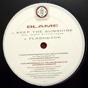 Blame - Keep The Sunshine / Flashback (720 Degrees 720NU032, 2008) : посмотреть обложки диска
