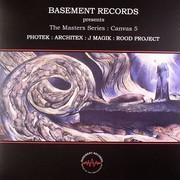 various artists - The Masters Series: Canvas 5 (Basement Records BRSSDNB005, 2008) : посмотреть обложки диска