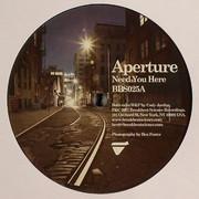 Aperture - Need You Here / Sleeping Giant (Breakbeat Science BBS025, 2007) : посмотреть обложки диска