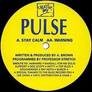 DJ Pulse - Stay Calm / Warning (Creative Wax CW103, 1994) : посмотреть обложки диска