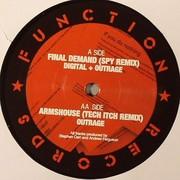 Digital & Outrage - The Red Letter Remixes (Function Records CHANEL9632, 2010) : посмотреть обложки диска