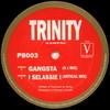 Trinity - Gangsta / I Selassie I (Philly Blunt PB003, 1995, vinyl 12'')
