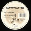 Capone - Soldier / Massive (Hardleaders HL001, 1995, vinyl 12'')