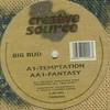 Big Bud - Temptation / Fantasy (Creative Source CRSE002, 1995, vinyl 12'')
