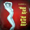 Aladdin - Mash Up You Know ('96 remix) / Woman That Rolls (Aladdin ADN004, 1996, vinyl 12'')