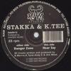 Stakka & K-Tee - Danger Zone / Hear Say (RAM Records RAMM015, 1995, vinyl 12'')
