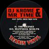 DJ Krome & Mr Time - The Licence / Ruffneck Scouts (Tearin Vinyl TVR02, 1994, vinyl 12'')