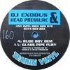 DJ Exodus & Head Pressure - Rude Boy Dem / Glass Pipe Fury (Tearin Vinyl TVR03, 1994, vinyl 12'')
