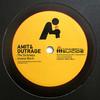 Amit & Outrage - The Sickness / Insane Bitch (Commercial Suicide SUICIDE048, 2009, vinyl 12'')