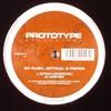 Ed Rush, Optical & Fierce - Cutslo (Lokuste Mix) / Alien Girl (Prototype Recordings PRO014, 1998, vinyl 12'')
