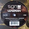Lenzman - Emeralds / Mesmerized (SGN:LTD SGN013, 2009, vinyl 12'')