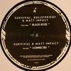 Survival, Bulletproof & Matt Impact - Black Rose / Connected (Audio Tactics AT004, 2009, vinyl 12'')