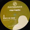 D. Kay & Epsilon - Where We Stand / Quiet Earth (Renegade Recordings RR35, 2002, vinyl 12'')