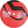 Klute - Galaxian / Glue Sniffer (Commercial Suicide SUICIDE002, 2001, vinyl 12'')