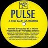DJ Pulse - Stay Calm / Warning (Creative Wax CW103, 1994, vinyl 12'')