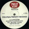 Dillinja - Dillinja/Trinity Remixes (Philly Blunt PB005R, 1996, vinyl 12'')