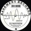 DJ Mayhem - Damage EP (Basement Records BRSS008, 1992, vinyl 12'')