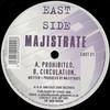 Majistrate - Prohibited / Circulation (Eastside Records EAST21, 1999, vinyl 12'')