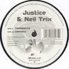 Justice & Neil Trix - Transmute / Context (Hardleaders HL047, 2000, vinyl 12'')