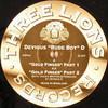 Devious 'Rude Boy' D - Gold Finger (Three Lions 3L007, 2002, vinyl 12'')