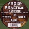 ArQer & Realtime - Unlocked / FLCL (Outbreak Records OUTBLTD013, 2003, vinyl 12'')
