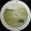 Psion - Rising Tides / Inversion (Audio Blueprint ABPR009, 1998, vinyl 12'')
