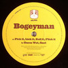 Bogeyman - Pick It, Lick It, Roll It, Flick It / Guess Wot, Snot (Guinea Pig Records PIG001, 2007, vinyl 12'')