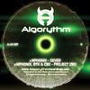 Nphonix, BTK & CBX - Sever / Project 2501 (Algorythm Recordings ALGO007, 2009, vinyl 12'')