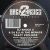 DJ Shock C & DJ Ellis The Menace - Crazy Feelings / On The Level (Back 2 Basics B2B12021, 1995, vinyl 12'')