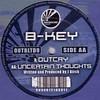 B-Key - Outcry / Uncertain Thoughts (Outbreak Records OUTBLTD009, 2003, vinyl 12'')